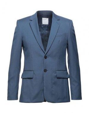 Пиджак SANDRO. Цвет: грифельно-синий