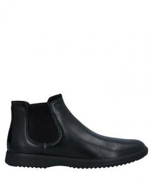 Полусапоги и высокие ботинки GEOX. Цвет: черный