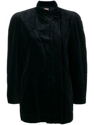Пиджак свободного кроя с длинным рукавом Krizia Pre-Owned. Цвет: черный