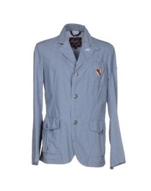 Пиджак GEOSPIRIT. Цвет: грифельно-синий