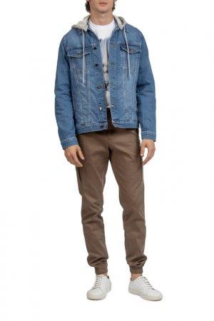 Куртка джинсовая Kanzler. Цвет: синий