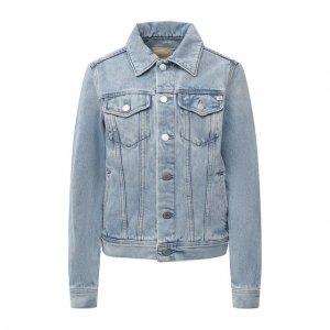 Джинсовая куртка Ag. Цвет: синий