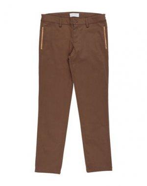 Повседневные брюки ALVIERO MARTINI 1a CLASSE. Цвет: коричневый