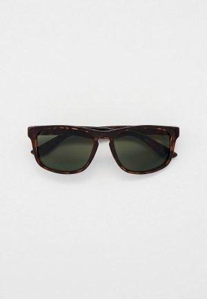 Очки солнцезащитные Marks & Spencer. Цвет: коричневый