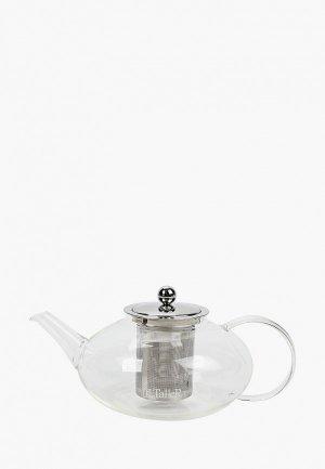 Чайник заварочный Taller Эринтон 1,25 л. Цвет: прозрачный