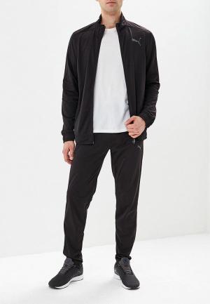 Костюм спортивный PUMA Techstripe Tricot Suit op. Цвет: черный