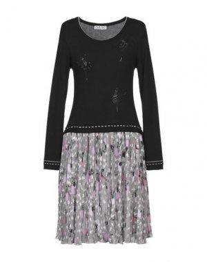 Короткое платье FUEGO WOMAN. Цвет: черный