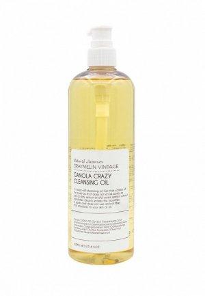 Гидрофильное масло Graymelin Canola Cleansing Oil, 500 мл. Цвет: желтый