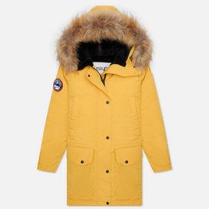 Женская куртка парка Chill Arctic Explorer. Цвет: жёлтый