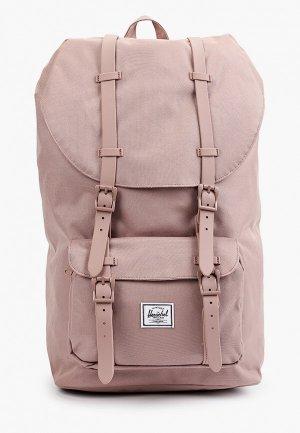 Рюкзак Herschel Supply Co Little America. Цвет: розовый