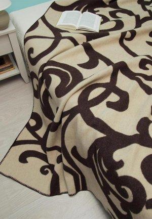 Плед Arloni 205*170 см. Цвет: коричневый