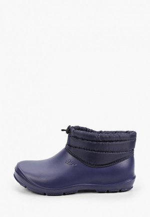 Резиновые ботинки Ayo. Цвет: синий