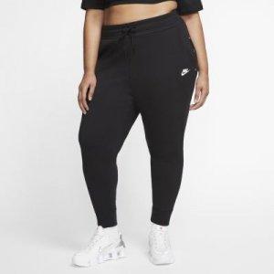 Женские брюки Nike Sportswear Tech Fleece (большие размеры) - Черный