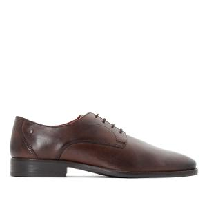 Ботинки-оксфорды кожаные Ivy BASE LONDON. Цвет: темный каштан