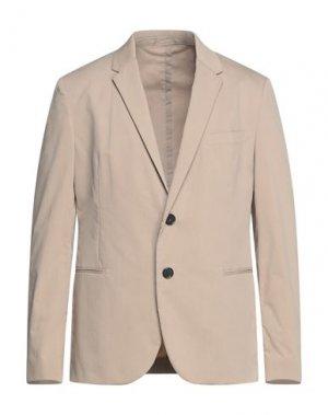 Пиджак NEIL BARRETT. Цвет: бежевый