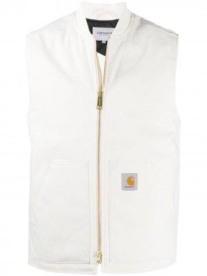 Жилет с нашивкой-логотипом Carhartt WIP. Цвет: белый