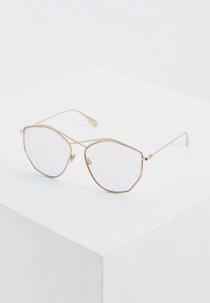 Очки солнцезащитные Christian Dior DIORSTELLAIRE4 000. Цвет: золотой