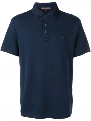 Рубашка-поло с логотипом Michael Kors. Цвет: синий
