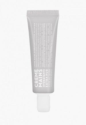 Крем для рук Compagnie de Provence увлажняющий, Цветы Хлопка/Cotton Flower, 30 мл. Цвет: прозрачный
