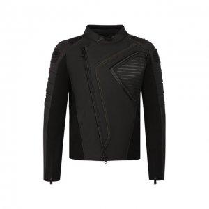Кожаная куртка H-D Moto Harley-Davidson. Цвет: чёрный