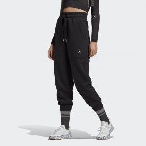Брюки для фитнеса by Stella McCartney adidas. Цвет: черный