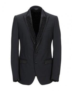 Пиджак DOLCE & GABBANA. Цвет: черный