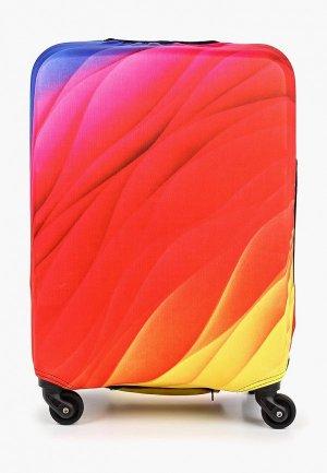 Чехол для чемодана Fabretti S. Цвет: разноцветный