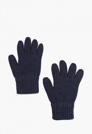 Перчатки Aleksa. Цвет: синий