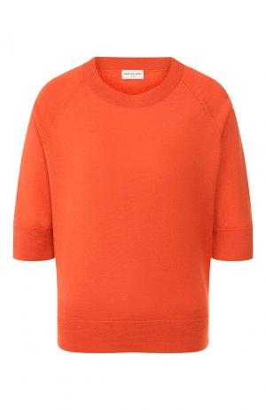 Шерстяной пуловер Dries Van Noten. Цвет: красный