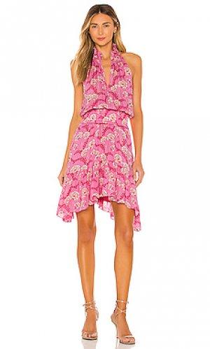 Платье cody A.L.C.. Цвет: розовый
