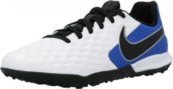 Бутсы для мальчиков Jr Legend 8 Academy TF, размер 36.5 Nike. Цвет: белый