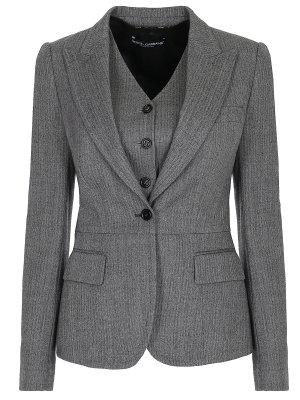 Комплект двойка пиджак и жилет DOLCE & GABBANA