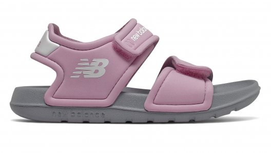 Сандалии Infant Girls New Balance. Цвет: розовый
