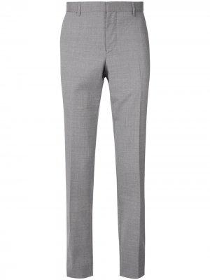 Классические брюки кроя слим Cerruti 1881. Цвет: серый