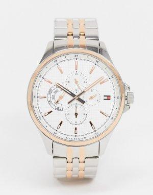 Часы из комбинированных металлов Shawn 1791617-Серебристый Tommy Hilfiger