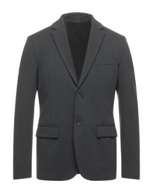 Пиджак PAOLO PECORA. Цвет: стальной серый