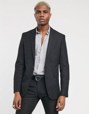 Черный пиджак -Черный цвет Celio