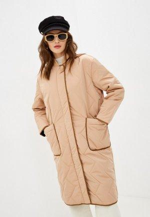 Куртка утепленная 2nd Day. Цвет: бежевый