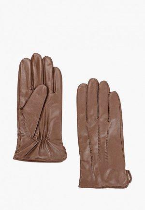 Перчатки Vitacci. Цвет: коричневый