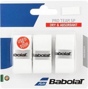 Намотка Pro Team Sp Babolat. Цвет: белый