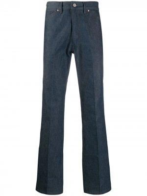 Расклешенные джинсы Lemaire. Цвет: синий