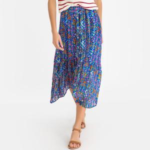 Юбка с цветочным узором ROMEO BA&SH. Цвет: наб. рисунок синий,рисунок/белый