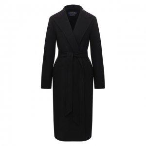 Шерстяное пальто Polo Ralph Lauren. Цвет: чёрный