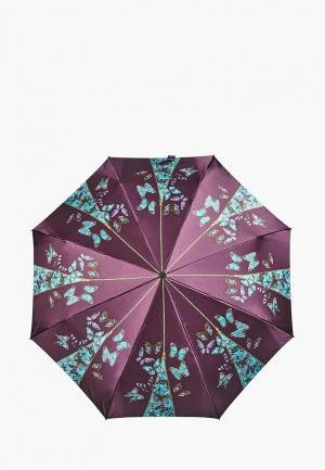 Зонт складной Henry Backer. Цвет: фиолетовый