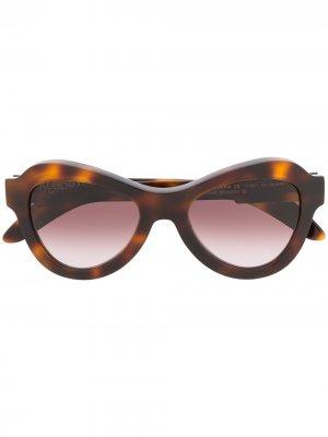 KRS0Y3BM00NC002B round-frame sunglasses Kuboraum. Цвет: коричневый