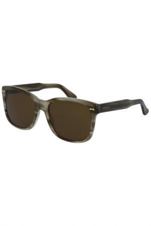 Солнцезащитные очки Gucci. Цвет: 003