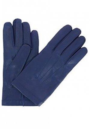 Перчатки BRUNO CARLO. Цвет: синий