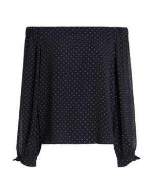 Блузка BAILEY 44. Цвет: темно-синий