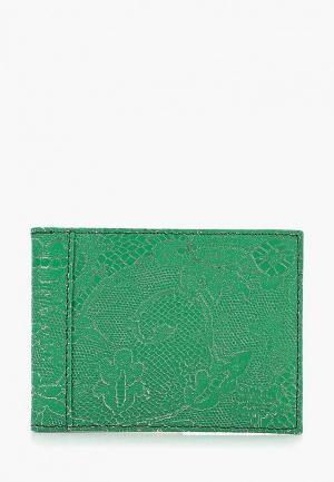 Обложка для документов D.Angeny. Цвет: зеленый