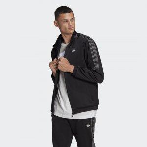 Олимпийка SPRT 3-Stripes Originals adidas. Цвет: черный